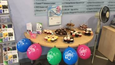 Cupcake Day fundraising for the Alzheimer's Society