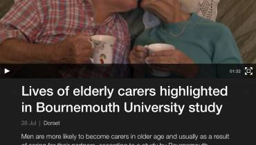 Elderly carers are more likely to be men