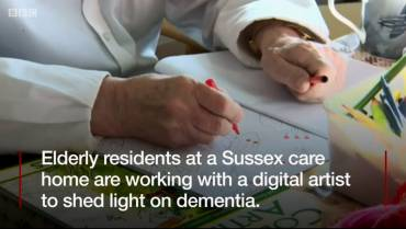 Artist teams up with people with dementia in Bexhill On-Sea