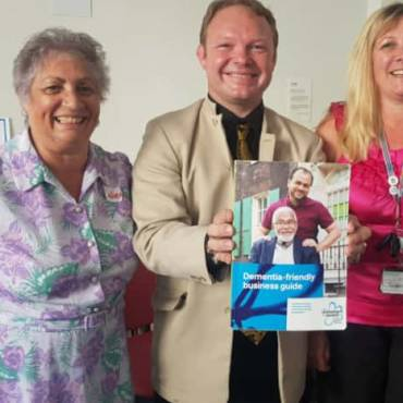 Dementia friendly guide for Hastings and Rotherham area